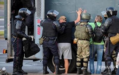 В Беларуси задержаны девять украинцев