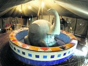 На Пейзажной аллее в Киеве появится слон-фонтан