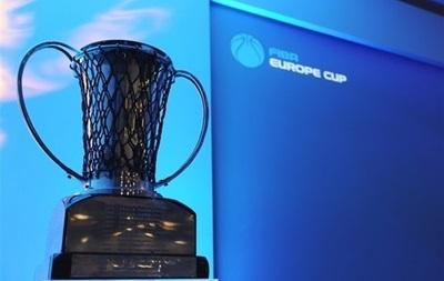 Київ-Баскет і Прометей зіграють в одній групі Кубка Європи ФІБА
