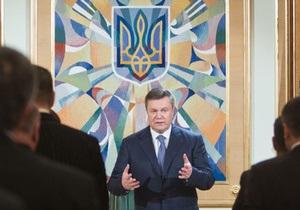 Никакой поддержки: Янукович недоволен позицией европейских партнеров в газовых спорах Украины и РФ