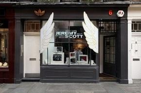 В Лондоне открывается Pop Up магазин коллекции Джереми Скотта для adidas Originals by Originals