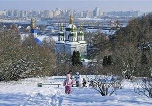 В Украину в понедельник придет настоящая зима