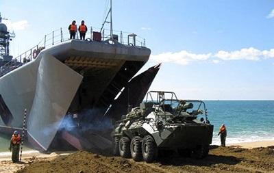 Военное командование РФ прибыло в Крым