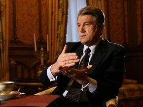 Ющенко: В Украине спад ВВП составил примерно 20%
