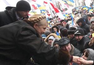 Начальник охраны Тимошенко заявил, что на нее покушались семь раз
