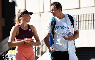 Ястремская прекратила сотрудничество со своим тренером