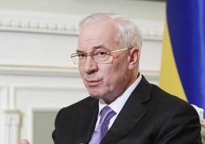 Азаров: Мы продолжаем политику снижения налогов
