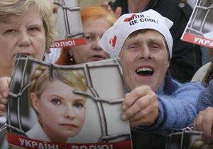 FT: Киев может поссориться с ЕС из-за дела Тимошенко