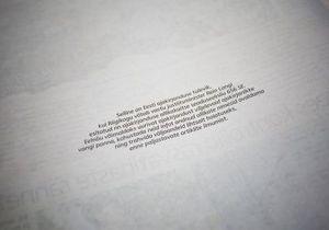 День чистых страниц: Ведущие газеты Эстонии вышли с пустыми полосами