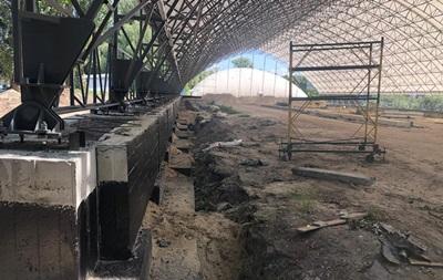 В Киеве при строительстве теннисного центра похитили 20 млн гривен