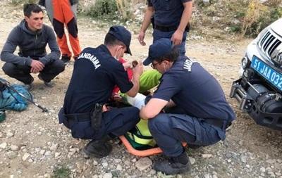 Сломавшего ногу украинского альпиниста спасли в Турции