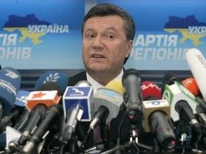 Янукович дал совет журналисту: Тебе еще много жить, языком не болтай