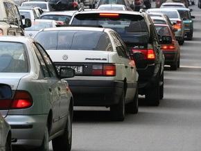 Киевская администрация  ограничила движение на подъездах к мосту Патона