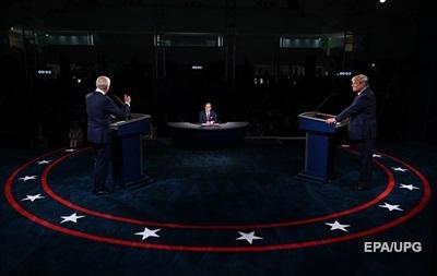 Заткнись, чувак!  Первые дебаты Трампа и Байдена