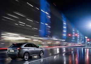 Новый полногибридный кроссовер Lexus RX 450h