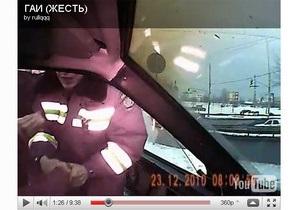 В Киеве гаишники применили силу против водителя, потребовавшего показать удостоверение