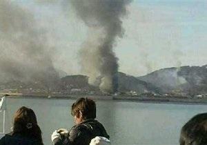 При обстреле южнокорейского острова погиб морской пехотинец