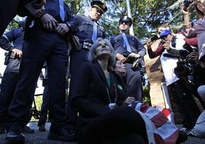 Полиция задержала кандидата в президенты США от Партии зеленых при попытке пройти на дебаты