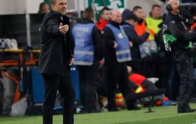 Ребров: Игроки Ференцвароша должны гордиться своей игрой против Ювентуса