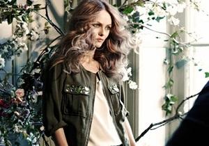 Ванесса Паради - лицо коллекции Conscious at H&M