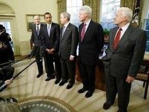 В Белом доме прошла встреча пяти президентов США