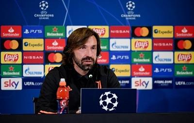 Пирло: Мы должны проводить все матчи одинаково, как в Европе, так и в Италии