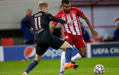Зинченко попал в стартовый состав Манчестер Сити на матч против Порту