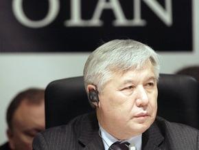Ехануров пожаловался министрам НАТО на плохое финансирование