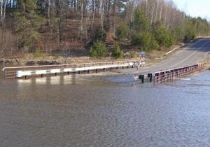 В Луганской области из-за паводка ограничили движение автомобилей в девяти населенных пунктах