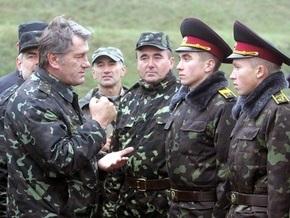 Ющенко завтра внесет в Раду кандидатуру на пост министра обороны