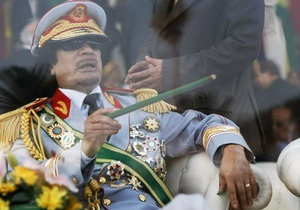Интерпол объявил Каддафи в международный розыск