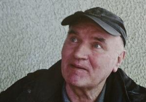 Младича поместили в тюремную больницу