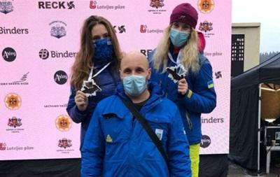 Украинские бобслеистки завоевали медаль на этапе Кубка Европы