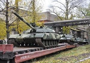 Харьковский завод передал украинской армии десять танков Булат