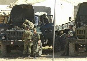 Оппозиция уличила Асада в транспортировке химоружия к приграничным зонам