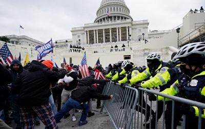Силовики повідомили про затриманих в ході протестів у Вашингтоні