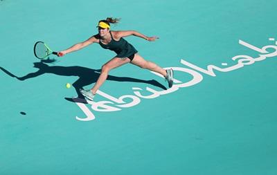 Свитолина обыграла Звонареву и вышла в третий раунд турнира в Абу-Даби