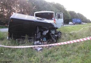 ДТП - Порохня - ДТП в Хмельницкой области: в аварии погибли восемь тернопольских предпринимателей