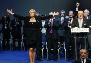 Марин Ле Пен выдвинули кандидатом в президенты Франции