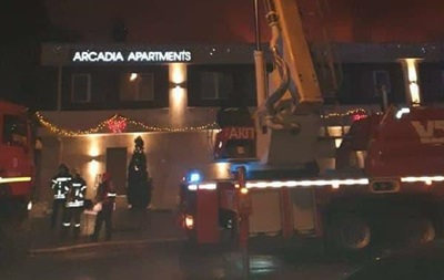 Пожежу в готелі в Одесі загасили