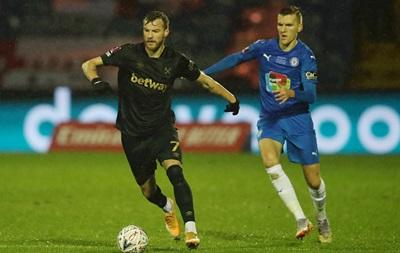 Ярмоленко - в запасі на матч проти Вест Бромвіча