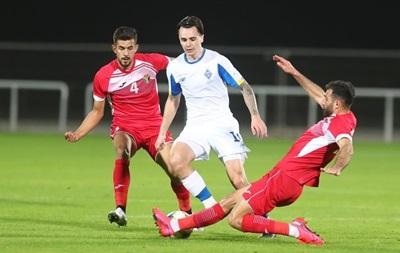 Динамо не змогло обіграти збірну Йорданії