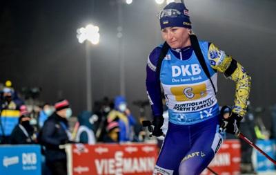 Вита Семеренко - в топ-10 в спринте на чемпионате Европы