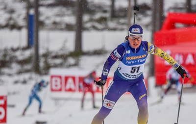 ЧЕ по биатлону: Украина стала пятой в одиночной смешанной эстафете