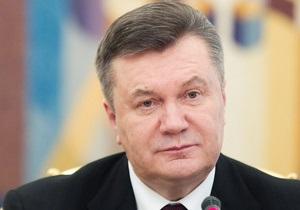Янукович призвал украинцев почтить память Героев Крут