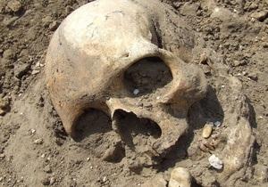 В Москве нашли связанный скелет мужчины