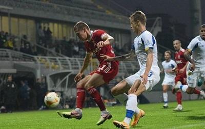 Динамо не удержало победу в матче с болгарским ЦСКА