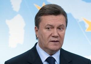 Янукович отменил рабочую поездку в Харьков