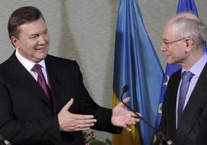 Янукович заверил ЕС: Нашим приоритетом остается утверждение демократических направлений развития общества