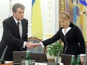 Ющенко и Тимошенко не стали затрагивать вопрос о смене главы НБУ